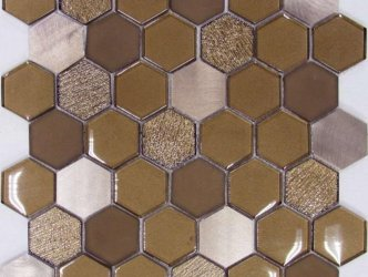 Liya Mosaic Hexagon