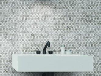 Onix Mosaico Hex Craquele
