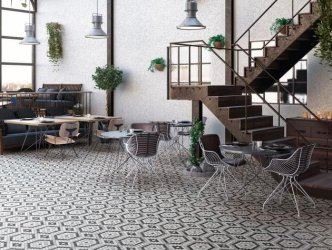 Onix Mosaico Hex Geo Patterns