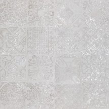 Abitare Icon Dec Patchwork Silver Lapp 60x60