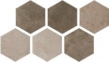 Argenta Atlas Hexagon Multi Cold 22x25