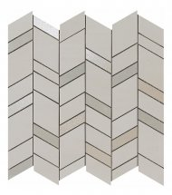 Atlas Concorde Mek Light Mosaico Chevron Wall 30.5x30.5