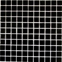 Bonaparte Mosaics Black Glass 30x30