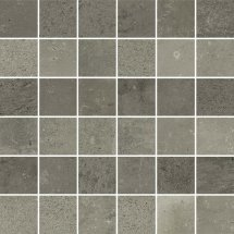 Cerim Maps Dark Grey 3D Mosaic 5x5 30x30