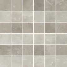 Cerim Maps Light Grey 3D Mosaic 5x5 30x30