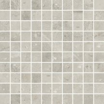 Cerim Maps Light Grey Mosaic 3x3 30x30