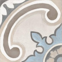 Cifre Adobe Gales Decor Ivory Mate 20x20