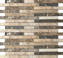 Colori Viva Emperador Strips Mix. Polished 30.5x30.5