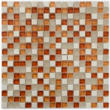 Diva Mosaic Mix Glass And Stone California 30x30