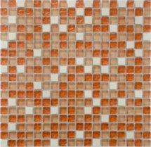 Diva Mosaic Mix Glass And Stone Mexico 30.5x30.5