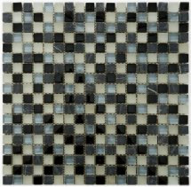 Diva Mosaic Mix Glass And Stone Nepal 30.5x30.5