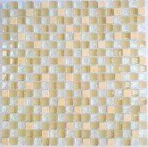 Diva Mosaic Mix Glass And Stone Vanilla 30.5x30.5