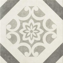 Epoca Art Deco Decor Grey 32.5x32.5