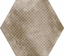 Equipe Urban Hexagon Melange Nut Antislip 29.2x25.4