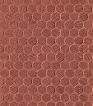 Fap Color Line Copper Marsala Round Mosaico 29.5x32.5
