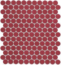 Fap Color Now Marsala Round Mosaico 29.5x32.5