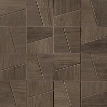 Fap Fapnest Brown Slash Mosaico Matt 30x30