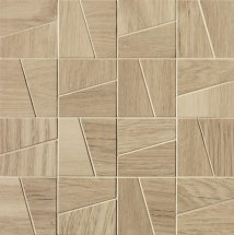 Fap Fapnest Natural Slash Mosaico Matt 30x30