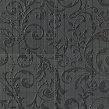 Fap Mosaici Dark Side Damasco Black Matt Mosaico 60x60