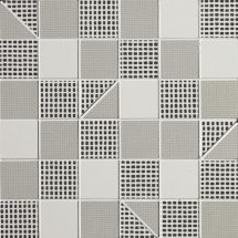 Fap Pat Grey Slash Mosaico 30.5x30.5
