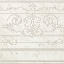 Fap Roma Diamond Carpet Carrara Border Inserto 60x60