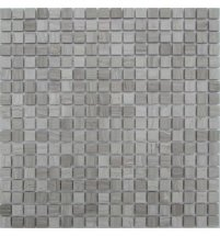 FK Marble Classic Mosaic White Wooden 15-4P 30.5x30.5