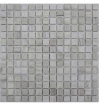 FK Marble Classic Mosaic White Wooden 20-4T 30.5x30.5