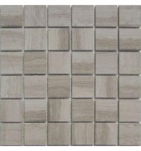 FK Marble Classic Mosaic White Wooden 48-4P 30.5x30.5