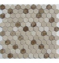 FK Marble Hexagon Cream 29.5x28