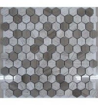FK Marble Hexagon Grey 29.5x28