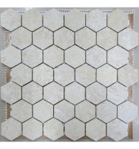 FK Marble Hexagon Travertine 48 30x30