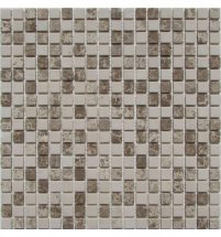 FK Marble Mix Mosaic Cappuccino Cream 15-4T 30.5x30.5