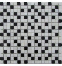 FK Marble Mix Mosaic Checkers 15-6P 30.5x30.5