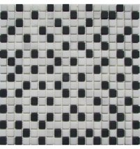 FK Marble Mix Mosaic Checkers 15-6T 30.5x30.5