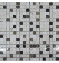 FK Marble Mix Mosaic Coffee 15-4P 30.5x30.5