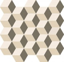 Italon Element Silk Mosaico Cube Warm 30.5x33