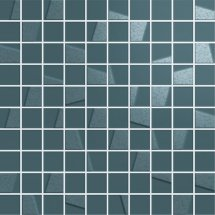 Italon Element Silk Petrolio Mosaico 30.5x30.5