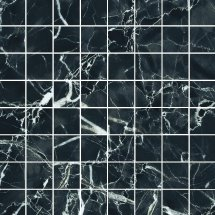 Kerranova Black and White Black Mosaic 30x30