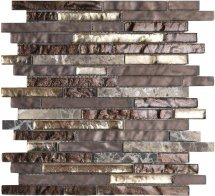 LAntic Colonial Mosaics Treasures Bronz Emper Strip 29.2x30.4