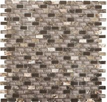 LAntic Colonial Mosaics Tribal Pearl Brown 28.6x28.3