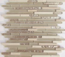 Liya Mosaic Stripes Cream 30.1x30.1