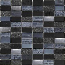 Mosavit City Black 30x30