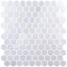 Onix Mosaico Hex Metal Blends White 30.1x29