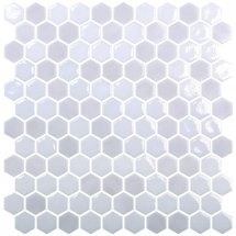 Onix Mosaico Hexagon Blends Cloud 30.1x29