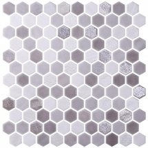 Onix Mosaico Hexagon Blends Dove 30.1x29