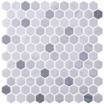 Onix Mosaico Hexagon Blends Fossil 30.1x29