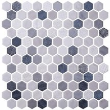 Onix Mosaico Hexagon Blends Shadow 30.1x29