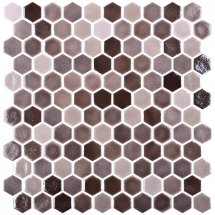 Onix Mosaico Hexagon Blends Tan 30.1x29