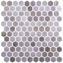 Onix Mosaico Hexagon Blends Taupe 30.1x29