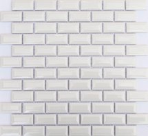 ORRO Ceramic White Bar 30x30